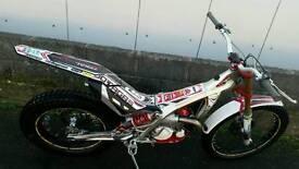 Jotagas 300cc trials bike 2014 tech fork model
