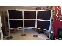 Professional 6 Panel Exhibition Display Stand - Immaculate Condition