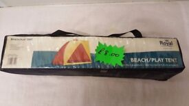 Brand New Royal Beach or Play Tent for Caravans, Motorhomes, Camping, or Home use