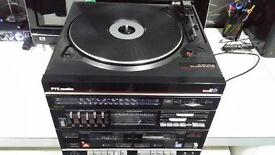 PYE Record player, Double cassete deck, Fm Am Radio