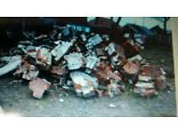 Free rubble bricks