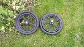 Set of bugaboo back wheels - GONE