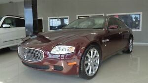 2007 Maserati Quattroporte Executive GT, Leather, Cooled Seats..