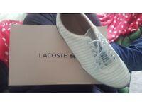 Lacoste women shoes size 8 /42