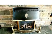 Used Baxi Baroque Gas Fire
