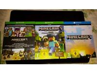 Brand new xbox one minecraft codes