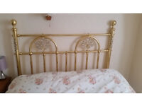 QUALITY DOUBLE BED BEDSTEAD HEADBOARD from FISHPOOLS