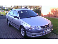 TOYOTA AVENSIS 1.8 HATCHBACK AUTOMATIC 2002