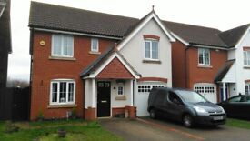 Modern detached 4 bedroom house to let in Biggleswade
