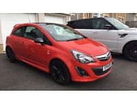1.2 Limited Edition Red Vauxhall Corsa
