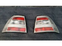 Vectra B clear tailights