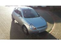 2003 Ford KA Luxury, MOT until July, £300, Quick sale first to see will buy