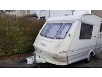 Elddis elf 2/berth light weight full AWNING no damp only 900kg DELIVERY AVAILABLE