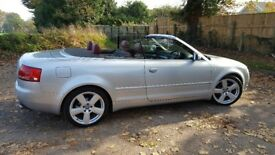 Audi A4 Convertible 1.8t Sport Red Leather, Sat Nav, Full Serice History, Lovely Example