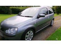 Vauxhall Corsa (Silver) SXI+ 2006(06) with AC 2 owners from new