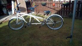 Tandem Bike, fully restored