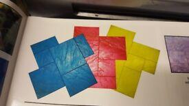Imprinted concrete supplies pro or diy