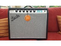Fender Princeton Custom 68 Reissue. As New.