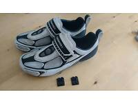 UK size 9 Muddy Fox Cycling Shoes