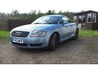 2004 Audi TT 225bhp Quattro For Sale Dundee
