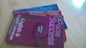 GCSE Success Revision Guides. English & English Lit, Science Higher, Mathematics Higher
