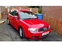 Audi a4 estate 2 litre 96,000 miles