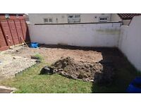 Free topsoil for collection