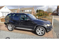 BMW X5 E53 3.0D , REMAPPED , DVD IN HEADRESTS, FULL LEATHER