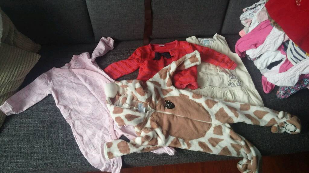 Baby girl clothes size 9-12