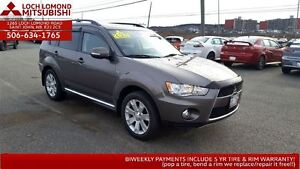 2013 Mitsubishi Outlander XLS GT 4WD - LOADED for only $178!