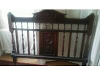Vintage head and foot board for double bed. ** Pending collection**