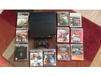 PS3 With Controller & Games