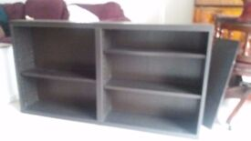 Ikea Besta Bookshelf, Brown-Black
