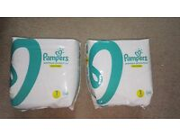 Pampers nappies size1