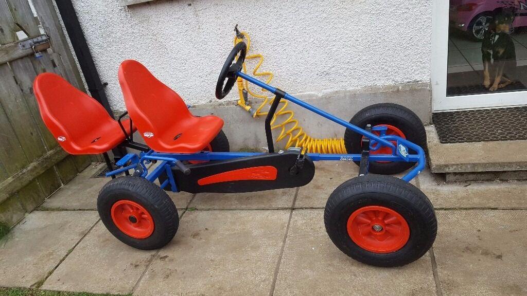 Kids 2 seater Berg pedal go kart / cart