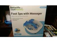 BETTERLIFE FOOT SPA WITH MASSAGER NEW BOXED NEVER OPENED