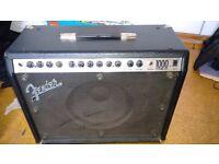 Fender amplifier Roc-Pro 1000 - faulty