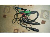 Electric power tester leads