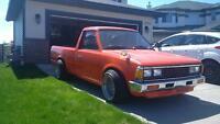 1985 Nissan 720 Pickup - V8 Swap