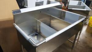 BRAND NEW THREE COMPARTMENT SINK