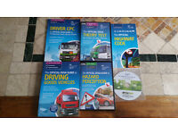 Lgv / Hgv Books and cd theory test and hazard perception