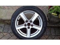Mazda MX5 mk3 16 inch alloy with brand new tyre.