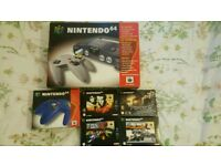 N64 Mint CONDITION Boxed Bundle GOLDENEYE
