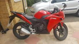 Honda CBR 125CC 3000 miles, MINT condition