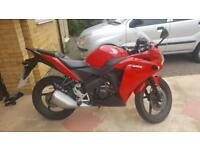Honda CBR 125CC 3000 miles, MINT condition, taking offers!