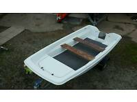 14 ft Orkney Dory Fresh Paint With Trailer NEW Axel