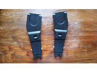 Maxicosi car seat adapters for Mothercare prams
