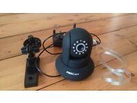 Baby monitor - Foscam FI8910W Wireless/Wired Pan & Tilt IP/Network Camera