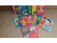 Immaculate condition BUMPER SET OF HORRID HENRY BOOKS