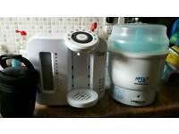 Prep machine and bottle steriliser